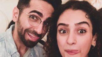Sanya Malhotra wishes Badhaai Ho co-star Ayushmann Khurrana with a goofy picture on his birthday