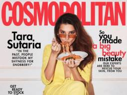 Tara Sutaria makes sharp statement with yellow pantsuit on the cover of Cosmopolitan