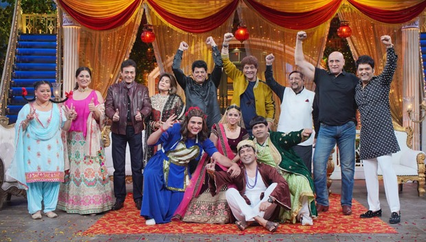 The Kapil Sharma Show: Arun Govil, Nitish Bharadwaj, Firoz Khan, Puneet Issar & Mahabharat team grace the show