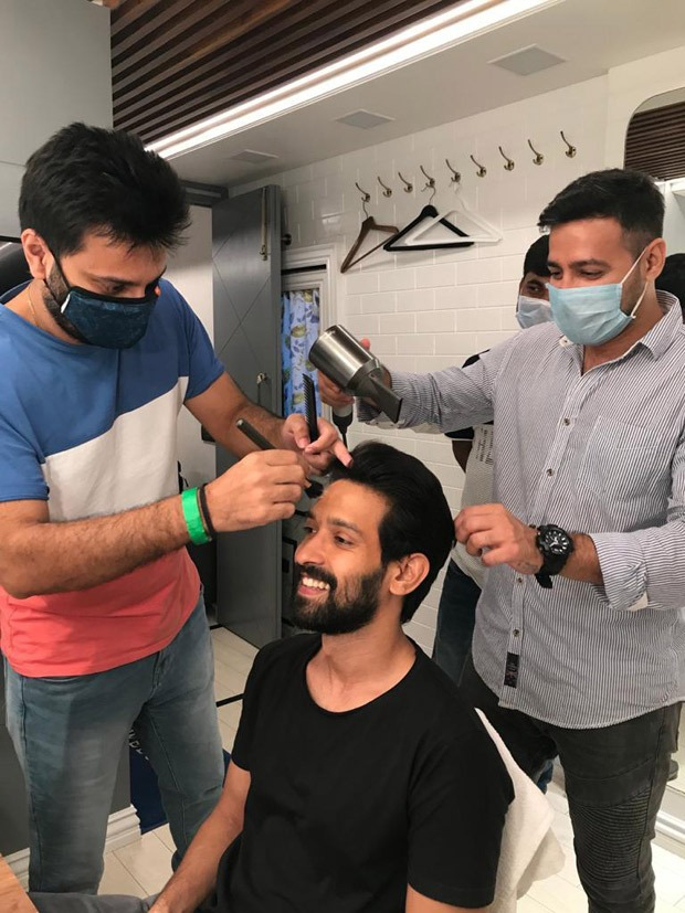 Vikrant Massey returns to work after six months; confides he feared going to the sets