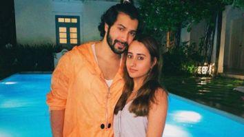 Varun Dhawan poses with girlfriendNatasha Dalal; says he won't be afraid as long as she is with him