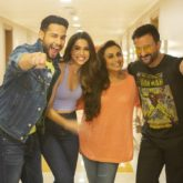 """We had a blast on the sets, thanks to the safety measures""; Bunty Aur Babli 2 team wraps the film with a dhamaal song shoot"