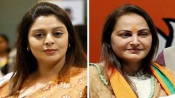 Nagma takes a jibe at MP Jaya Pradha's comment on Bollywood's drug culture; says BJP members are talking about drugs to cover up Sushant's death case