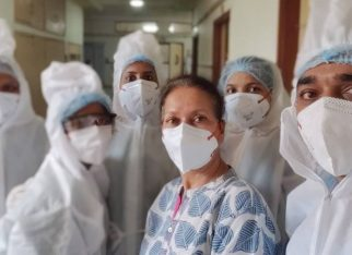 Himani Shivpuri gets discharged after Covid-19 diagnosis, thanks the hospital stafffor taking care of her