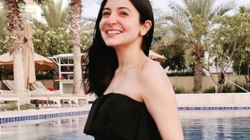 Mom-to-be Anushka Sharma is all smiles as she poses in a black monokini in her latest post