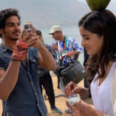 Ananya Panday shares some fun BTS with her co-star Ishaan Khatter and it's all fun!