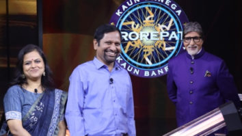 """Being consistent will give you good results"", say Gyanendra and Monica on Karamveer episode of KBC 12"