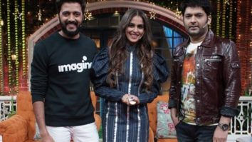 """Genelia has earned more than me and I am proud"", shares Ritiesh Deshmukh on The Kapil Sharma Show"