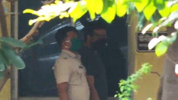 Anurag Kashyap spotted at Versova police station