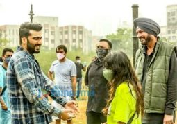 On The Sets From The Movie Arjun Kapoor and Rakul Preet Singh's Next