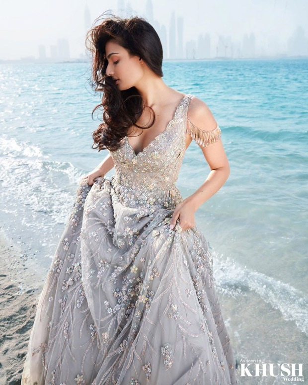 Athiya Shetty looks every bit of a free-spirited a millennial bride on the latest issue of Khush Wedding