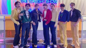 BTS end their residency on The Tonight Show Starring Jimmy Fallon with 'Dynamite' performance at a rollerskating rink