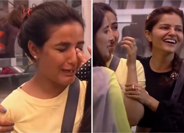 Bigg Boss 14 Promo: Jasmin Bhasin sheds tears while ranting about washing clothes, Abhinav Shukla, Rubina Dilaik, Sara Gurpal find her complains hilarious