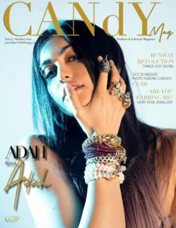 Adah Sharma On The Covers Of Candy Magazine
