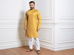 """EXCLUSIVE: """"Our collections are inspired by the refined sartorial history of the country"""" – says Saif Ali Khan as House Of Pataudi completes two years"""