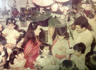 Ekta Kapoor eyeing Tusshar Kapoor's birthday cake in this throwback picture describes every siblings bond