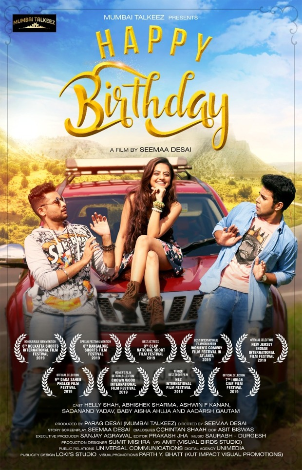 Helly Shah debuts in Seema Desai's short film titled Happy Birthday (2)