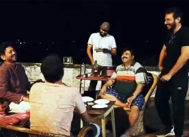 Homi Adajania remembers Irrfan Khan by sharing behind the scenes video with Kiku Sharda & Deepak Dobriyal from Angrezi Medium