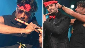 Jackie Shroff recreates the Hero flute scene with Maniesh Paul on Sa Re Ga Ma Pa Li'l Champs