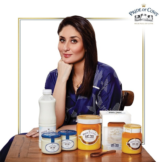 Kareena Kapoor Khan shares her love for dairy products, associates with premium brand Pride of Cows