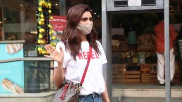 Karishma Tanna spotted at Foodhall Bandra