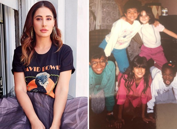 "Nargis Fakhri shares a throwback picture from her foster days, says, ""We had each other"""