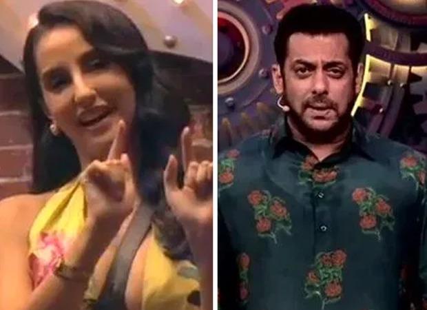 Nora Fatehi makes the male contestants and Salman Khan do the 'Garmi' hook step on Bigg Boss 14