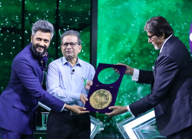 "Riteish Deshmukh wants people to say, ""Jaate Jaate Healthy Organs Chhod Kar Gaya"" on Amitabh Bachchan's Kaun Banega Crorepati 12"