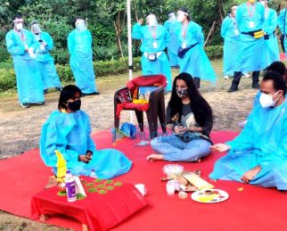 On The Sets From The Movie Sherni