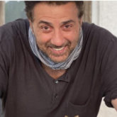 Sunny Deol poses with his birthday cake and thanks all his fans as he turns 64