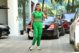 Urvashi Rautela spotted at T-Series office Andheri