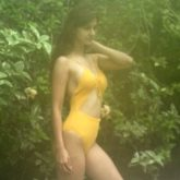 Disha Patani oozes hotness in a yellow monokini