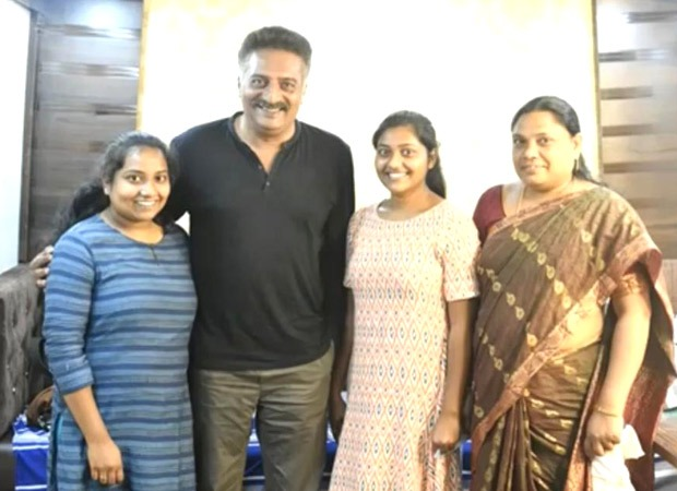 Prakash Raj provides financial support to a Telugu Dalit student to pursue higher education