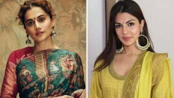 """Hope her time in jail has sufficed the egos of a lot of people,"" says Taapsee Panu after Rhea Chakraborty gets bail"