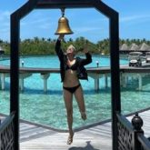 Taapsee Pannu is 'ringing out the bad times' in Maldives in style
