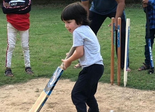 Kareena Kapoor Khan's Pic of Son Taimur Playing Cricket Reminds Fans of MAK Pataudi