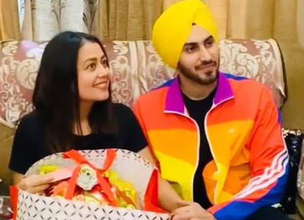 WATCH: Neha Kakkar shares video of the time she first met her beau Rohan Preet Singh's parents
