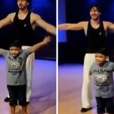 WATCH: Tiger Shroff teaches a little child the hook step of his song; kid ends up teaching him