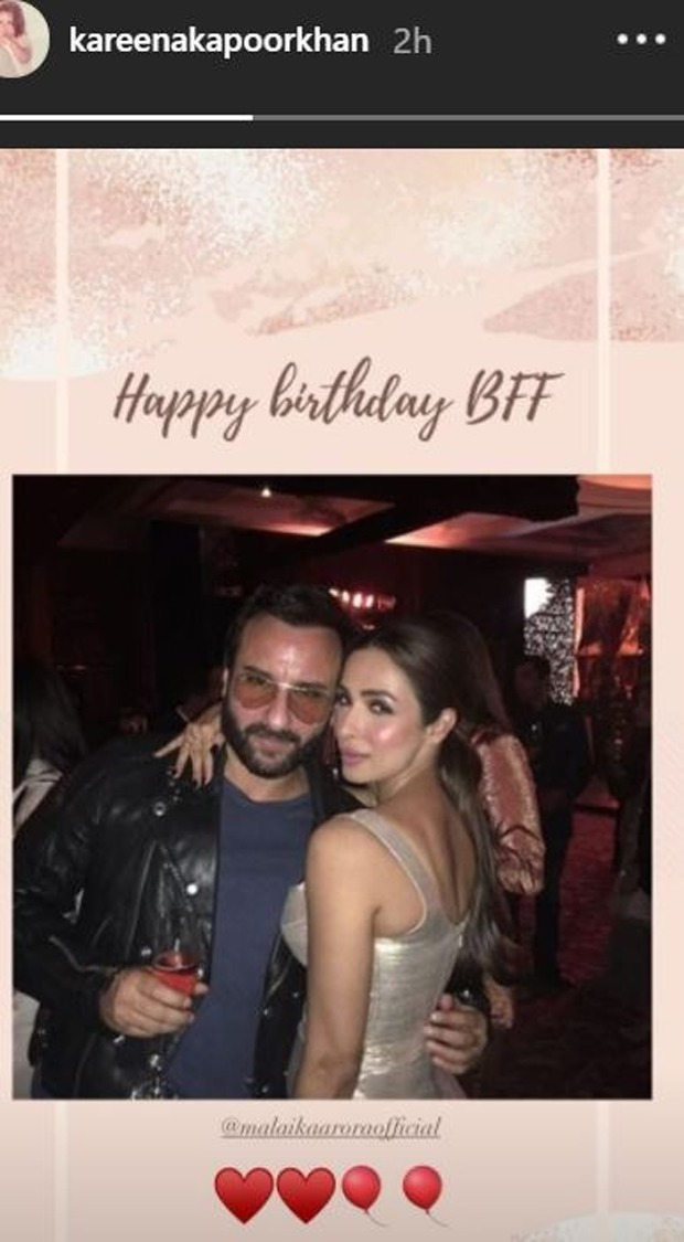 Kareena Kapoor Khan's birthday post for Malaika Arora proves that they are truly best friends