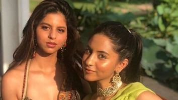 Suhana Khan's cousin Alia shares picture of 'baby mushroom' AbRam Khan enjoying in the sea