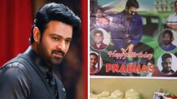 On Prabhas'birthday, his fans add a touch of goodness to under priviliged lives