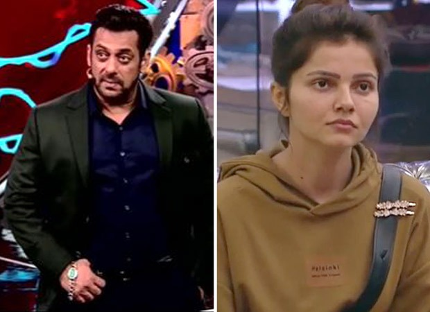Bigg Boss 14: Salman Khan reminds Rubina Dilaik that he is the host and not her competitors; asks her to not use his name