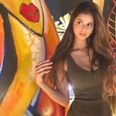 Suhana Khan is an absolute stunner in this olive green bodycon dress