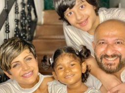 Mandira Bedi adopts a four-year-old girl; introduces her through a heartwarming Instagram post