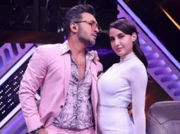 Watch: Terence Lewis lifts Nora Fatehi in his arms as they do an impromptu act on Pehla Pehla Pyaar Hai