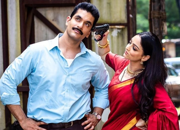 Sandeepa Dhar points a gun at Angad Bedi, says only she can shoot him