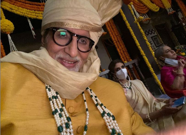 It's family day for Amitabh Bachchan on sets as he shoots with Jaya Bachchan and Shweta Bachchan Nanda