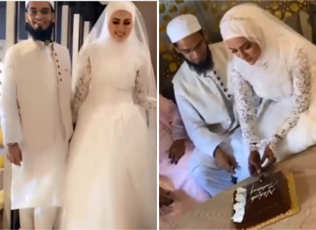 After quitting showbiz, Sana Khan marriesMufti Anas in private ceremony in Surat