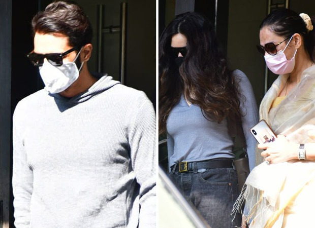 Arjun Rampal summoned on Friday, girlfriend Gabreilla Demetriades arrives at the NCB office for second round of questioning in alleged drugs case