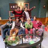 BTS members welcome Christmas season during 'Life Goes On' performance on The Late Late Show With James Corden depicting the current scenario in COVID-19 times
